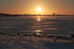 IMG_5653 HDR DPP (kiivikarhu) Tags: oulu december joulukuu 2016 canon70d winter talvi nallikari beach ranta sunset auringonlasku