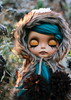 Unfreeze (pure_embers) Tags: pure embers blythe doll dolls laura england uk custom sammydoe tan briar embersbriar takara neo teal hair alpaca reroot girl fur photography eyelids closed eyes sleep