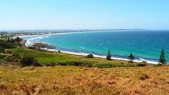 Lennox Beach from Lennox Head lookout, New South Wales (Red Nomad OZ) Tags: beach australianbeaches lennoxhead lennox newsouthwales