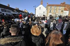 Boxing Day Hunt meet in Kirkbymoorside (petelovespurple) Tags: thehunt boxingday kirkbymoorside hunt horses ponies hounds men women boys girls ladies gentlemen uniforms boots wellies ryedale northyorkshire