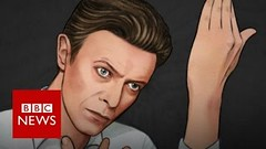 David Bowie GIF by Helen Green - BBC News (frankwilberforce) Tags: bbcnews bowie david davidbowie davidbowieheroes davidbowiemusic davidbowiestarman heores lazarus starman video youtube