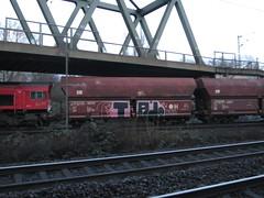 TAJ (northrhine westphalia bench) Tags: güterzug nrwbench nrw europe graffiti freight bench hopper coal drugs taj class66