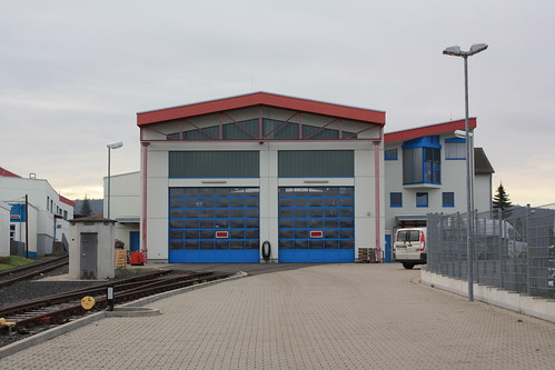 Betriebswerkstatt der Hessischen Landesbahn in Butzbach Ost