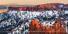 Bryce Canyon N.P - Utah - USA (~ Floydian ~ ) Tags: henkmeijer photography floydian usa unitedstates utah bryce canyon np brycecanyonnationalpark winter snow cold sunset dusk tranquility serene landscape canon canoneos1dsmarkiii