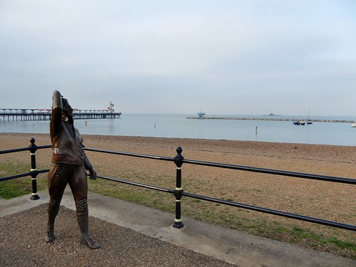 Amy Johnson memorial, Herne Bay