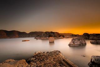 a sunset at Kekova................