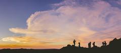 Amanecer en la cumbre del Cerro Uritorco (Bruno Aiub Robledo) Tags: sunrise amanecer hikking montaña uritorco bruno aiub robledo capilla del monte cordoba argentina panorama siluetas trekking mountain montañismo
