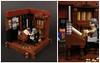 Lego Christmas Carol 1 - Scrooge's Office (SEBASTIAN-Z) Tags: lego christmas carol dickens scrooge minifig vignette