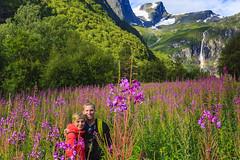 ET's Ashton & Hillary in Norway (ExpeditionTrips) Tags: adventure arcticocean briksdalglacier lindbladexpeditions nationalgeographicexpedition nationalgeographicorion northsea norway norwegianfjords usa ashton