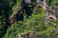 Leura Cascades from Bridal Veil, Blue Mountains (Orange Orb Photography) Tags: view trees lookingdown cascade bridalveil australia highup leura bluemountains waterfall lookout nsw
