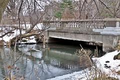 Bridge over the inlet (mkschumacher) Tags: inlet lake landscape mendota winter wisconsin