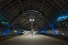 2017.01.11_12035_Sloterdijk_SLT_2429+2616 (rcbrug) Tags: sloterdijk amsterdam avond night evening slt trein boog overkapping station hemboog