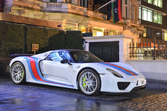 Weissach Package (Beyond Speed) Tags: porsche 918 spyder weissach package supercar supercars automotive automobili nikon v8 hybrid white london cars car