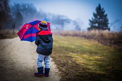 IMG_2541 ({KT}Photography) Tags: winter rain fog umbrella spiderman