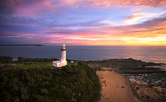 Norah Head Lighthouse (Jay Daley) Tags: aerial drone sony a7r2 norah head lighthouse sunrise nsw australia