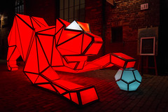 Digital Origami Tiger @ Toronto Light Festival (A Great Capture) Tags: tolightfest laboratory for visionary architecture lava sydney customs house digital origami tiger distillery historic district the art light soccer ball wwf 2010 mill st brewery agreatcapture agc wwwagreatcapturecom adjm ash2276 ashleylduffus ald mobilejay jamesmitchell toronto on ontario canada canadian photographer northamerica torontoexplore winter l'hiver 2017 city downtown lights urban night dark nighttime colours colors colourful colorful eos dslr outdoor outdoors glow streetphotography streetscape street calle streetart ig
