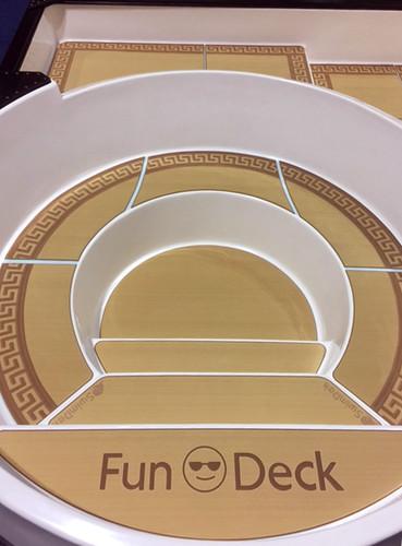 SwimDek in a San Juan Pools Fun Deck