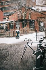 Bicycle (borishots) Tags: bokeh bokehlicious bokehwhore canon5d canon5dclassic canonef50mmf14 ef50mmf14 canon analog retro vintage urban urbanexploration urbanlandscape oslo norway scandinavia