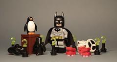 Arkham Collectables (TCMazz1) Tags: batman arkham asylum city riddler joker penguin interview tapes trophy teeth