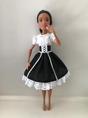 High Fashion in black (nesi b) Tags: barbie 17 endless hair kingdom requiem