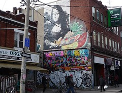Toronto 2017 (bella.m) Tags: graffiti streetart urbanart toronto canada art monalisa kensingtonmarket