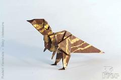 Fumiaki Kawahata - Baby Maiasaura (IverRu) Tags: iver kawahata dinosaur maiasaura origami оригами динозавр майозавр