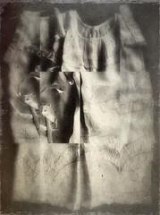 Possess(ed)-9844 (Poetic Medium) Tags: fabric stilllife christening texture possession child ipod vintage clothes