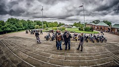 Angels On The Cathedral Steps (Stephen Reed) Tags: bike angel cathedral surrey fisheye guildford 8mm samyang d7000 lightroom4 colorefexpro4