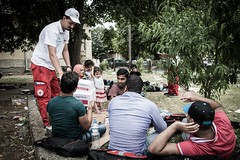 p-MKD0030 (IFRC) Tags: children child relief macedonia aid trainstation disaster migration migrants gevgelija ifrc redcrossredcrescent macedoniafyrom municipalityofgevgelija macedonianredcross