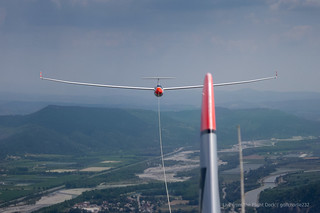 Glider towing - Ventus 2Cx