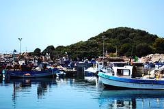 (sarahb.1) Tags: blue sea nature port landscape coast algeria boat nikon mediterranean algerie algrie jijel d3100