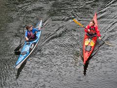 _9120097 Kayaking at Aker Brygge.jpg (JorunT) Tags: oslo akerbrygge båt 2015 kajakk nasjonal fotovandring