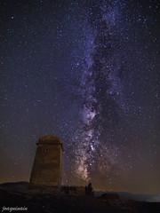 Taibilla's Milky Way (joaquinain) Tags: way spain long exposure voigtlander olympus astrophotography astrofotografía nocturnas milky omd vía larga albacete em1 exposición láctea nerpio nightlies