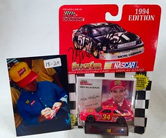 #18-20, Mike McLaughlin, Signing, Racing Champions, 1994, Fiddle Faddle, #34, Busch, (Picture Proof Autographs) Tags: auto classic cars scale car sign real toy toys photo model automobile image display models picture images collection vehicles photographs photograph collections nascar displays 164 vehicle driver proof session autoracing autos collectible collectors signing automobiles collectibles authentic sessions collector drivers genuine diecast winstoncup carded buschseries inperson 164th photoproof authenticated blisterpacks pictureproof