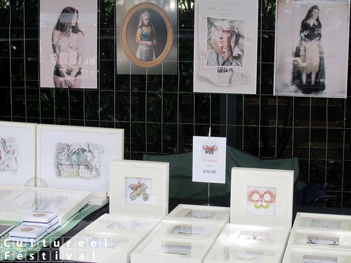 Cultureel Festival Baarn 2015 - Kunstmarkt