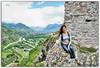 At the top of Sion (Olivia Heredia) Tags: naturaleza nature switzerland suisse verano château castillo hdr highdynamicrange sion valais tonemapped tonemapping 1exp schweis oliviaheredia oliviaherediaotero châteaudetourbillon vàlere vàlerecastle châteaudevàlere