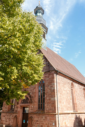 """La """"Jakobskirche"""" à Gernsbach"""