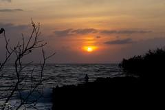 Sunrise @ sanur-bali (j i m m y t a m p) Tags: sky bali beach sunrise nikon siluet f28 sanur 1755mm nikon1755mm nikon1755mmf28 d7000
