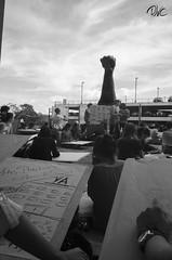 """""""Yo Protesto (dibujando)"""" (Daniel VC) Tags: arte y yo dibujo artes qué ucr ciencias manifestación sociales protesto expresión pacífica artística plasticas"""