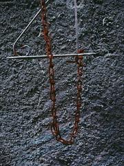 Chain (gp.gustavo) Tags: brazil wall rusty chain sp minimalist santoandré
