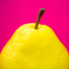 Well saturated pear.