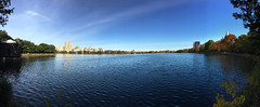 Jacqueline Kennedy Onassis Reservoir (couchpotato2000) Tags: nyc autumn panorama newyork fall centralpark manhattan reservoir iphone jacquelinekennedyonassisreservoir