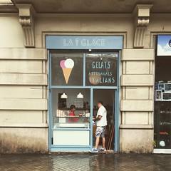 La Glace, BCN. (*alicja*) Tags: barcelona travel summer ice girl photography la europe cream wanderlust icecream gelato helado glace deliciious laglace iphone6 instagram