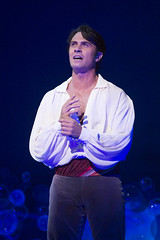 Eric Kunze as Prince Eric in Disney's The Little Mermaid presented by Broadway Sacramento at the Community Center Theater Feb. 2-7, 2016. Photo by Bruce Bennett, courtesy of Theatre Under The Stars.