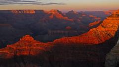 Sunset @ Grand Canyon (upsa-daisy) Tags: