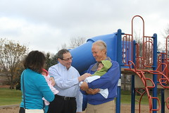 Sen. Carlson visits Terrace Oaks Park Oct. 30