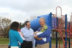 Sen. Carlson visits Terrace Oaks Park Oct. 30