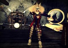 I'm late.. I'm LATE!!!! (X@phyre!) Tags: fantasy wonderland clocks lomoish steampunk whiterabbit
