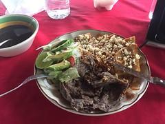 Bisteck enchiladas after El Tajín.