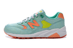 NB WRT580ST Women New Balance 580 Retro Blue Orange Sneaker (RobertThrashy) Tags: shopping discount cheap runningshoes coupon womensshoes retrostyle onlinestore newbalance580 fashionsneakers popularshoes